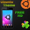 Ubuntu tema GO Launcher EX