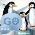 GO SMS Pro Theme Penguins