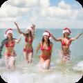 Christmas Girls Snowflakes LWP
