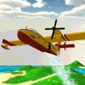 Airplane Firefighter 3D