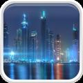 Dubai Night Live Wallpaper