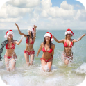 Christmas Girls Snowflakes LWP