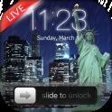 Rainy New York Lock Screen
