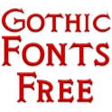 Gothic Fonts for FlipFont free
