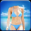 Woman Bikini Photo Montage