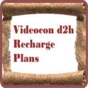 Videocon d2h Recharge Plans