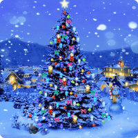 christmas tree live wallpaper android informer