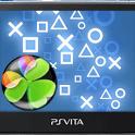 PS Vita Go Launcher EX Theme