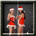 Dancing Christmas Girls LWP