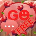 Fabulous Hearts - GO SMS Theme
