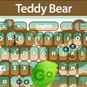 GO Keyboard Teddy Bear