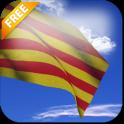 Catalunya Flag Live Wallpaper