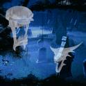 Ghost Halloween Cemetery Full