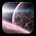 Galaxy Asteroids Wallpaper 4K