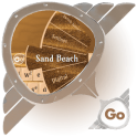 Sand Beach GO Keyboard