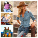 Cowgirls Suit Face Changer