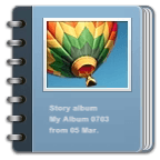 Story Album Widget
