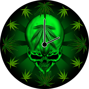 Rasta Weed Clock Widget - Android Informer. Wake and bake! It is high ... Keep Calm And Be Yourself