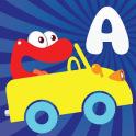 Alphabet car game for kids