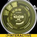 Futuristic GUI Watch Face