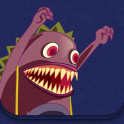 Monster and the Cat - Interactive story for kids