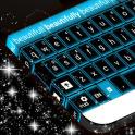 Синий неоновый GO клавиатуры