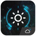 Animation Weather Cool widget