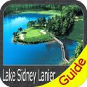 Lake Lanier GPS Offline Fishing Charts Navigator