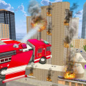 Flying Fire Truck Simulator