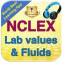 NCLEX Fluids & Lab Values 1900 Notes & Flashcards