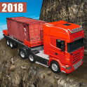 Truck Driving Uphill