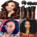 Brazilian Virgin Hair & Styles