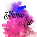 Smoke Name Art