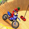 Well Of Death Bike Rider: New Bike Stunt Games 3d