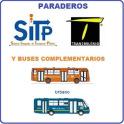 Rutas y Paraderos del SITP