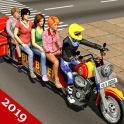 Estados Unidos autobús moto Zombie rescate 3D