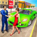 Shopping Mall Smart Taxi Car Parking Game