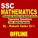Rakesh Yadav 7300 SSC Mathematics Book - 1999-2020