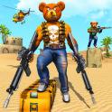 Teddy Bear Gun Strike Game: Counter Shooting Games