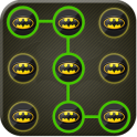 Batman Pattern Lock Screen