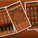 Leather GO Launcher EX Theme