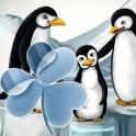 GO Launcher EX Theme penguins