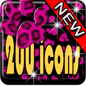 Pink Leopard Icon Pack