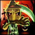 Lady assustador Halloween 2015