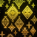 Luminous textile LW03