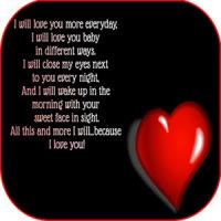 Romantic love messages images