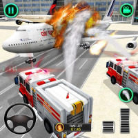 American Fire Fighter Airplane Rescue Heroes 2019