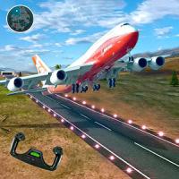 Real Jet Airplane Flight Simulator Plane Flying