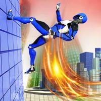 Police Robot Speed hero