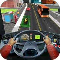 Modern Bus Drive Parking Bus Simulator - Bus Games